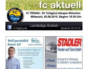 fc aktuell Saison 2015-16 Ausgabe 3