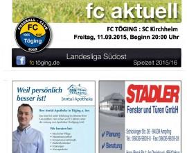 fc aktuell Saison 2015-16 Ausgabe 6