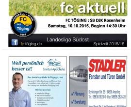 fc aktuell Saison 2015-16 Ausgabe 8