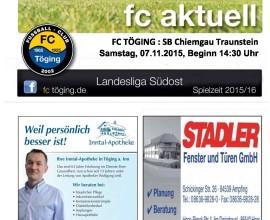 fc aktuell Saison 2015-16 Ausgabe 10