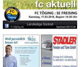 Titelblatt Ausgabe 12 Saison 2017-18