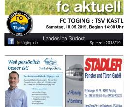 Ausgabe 17 Saison 2018-19 Titelblatt